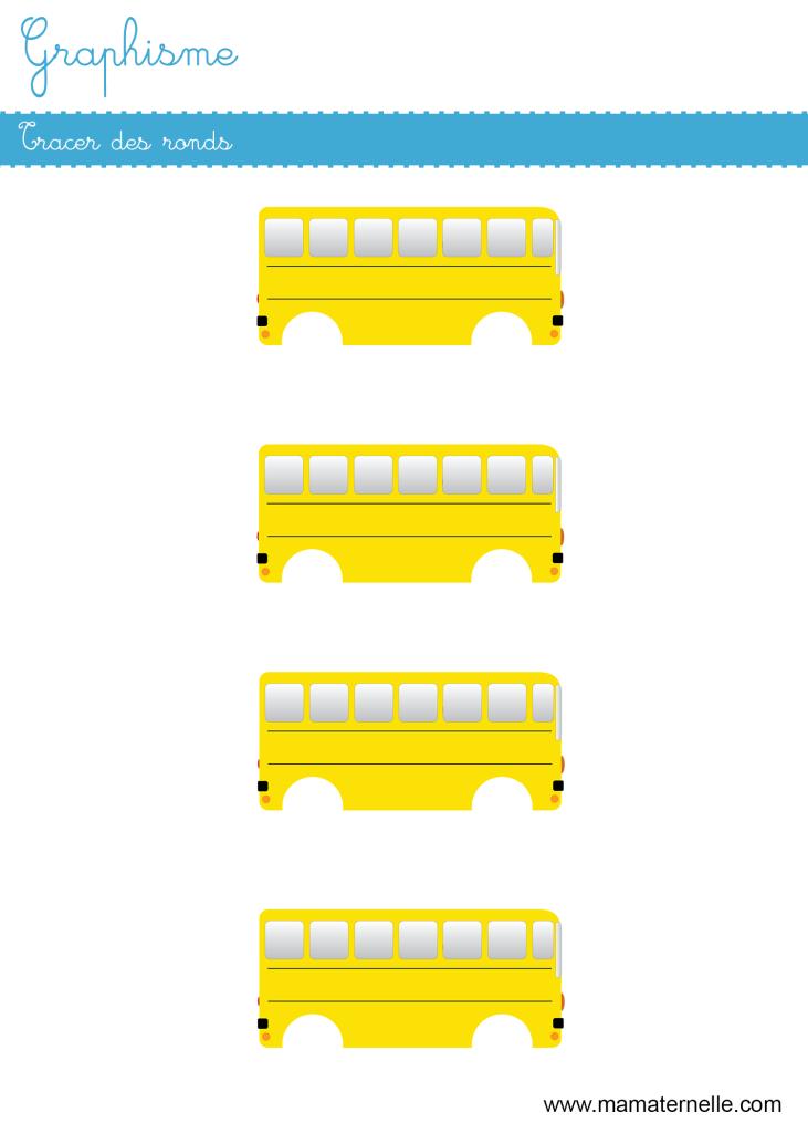 Petite section - Graphisme : tracer des ronds