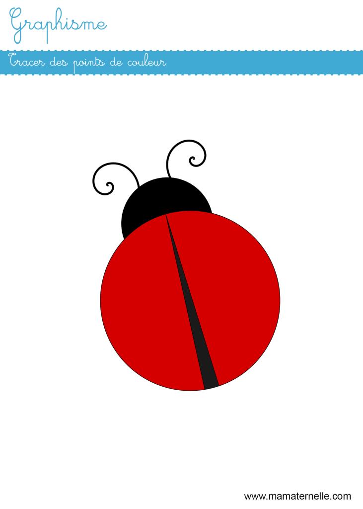 Petite section - Graphisme : tracer des points de couleur