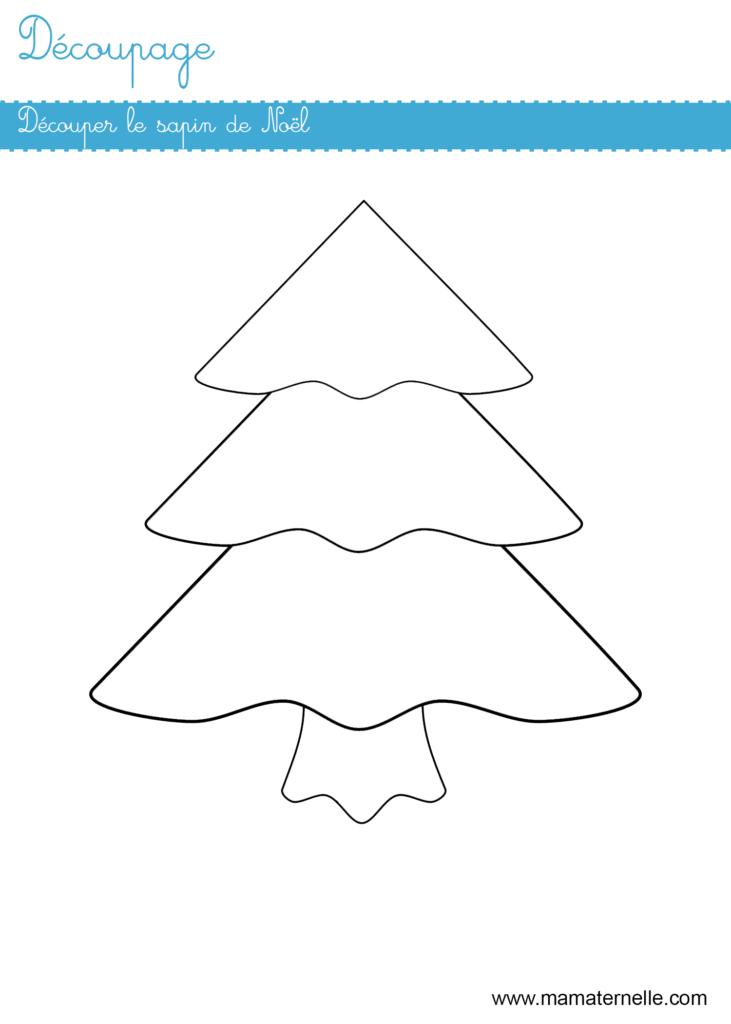 Grande section - Découpage : Noël