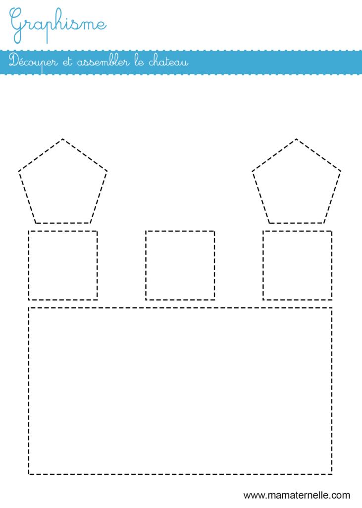 Grande section - Graphisme : découper et assembler