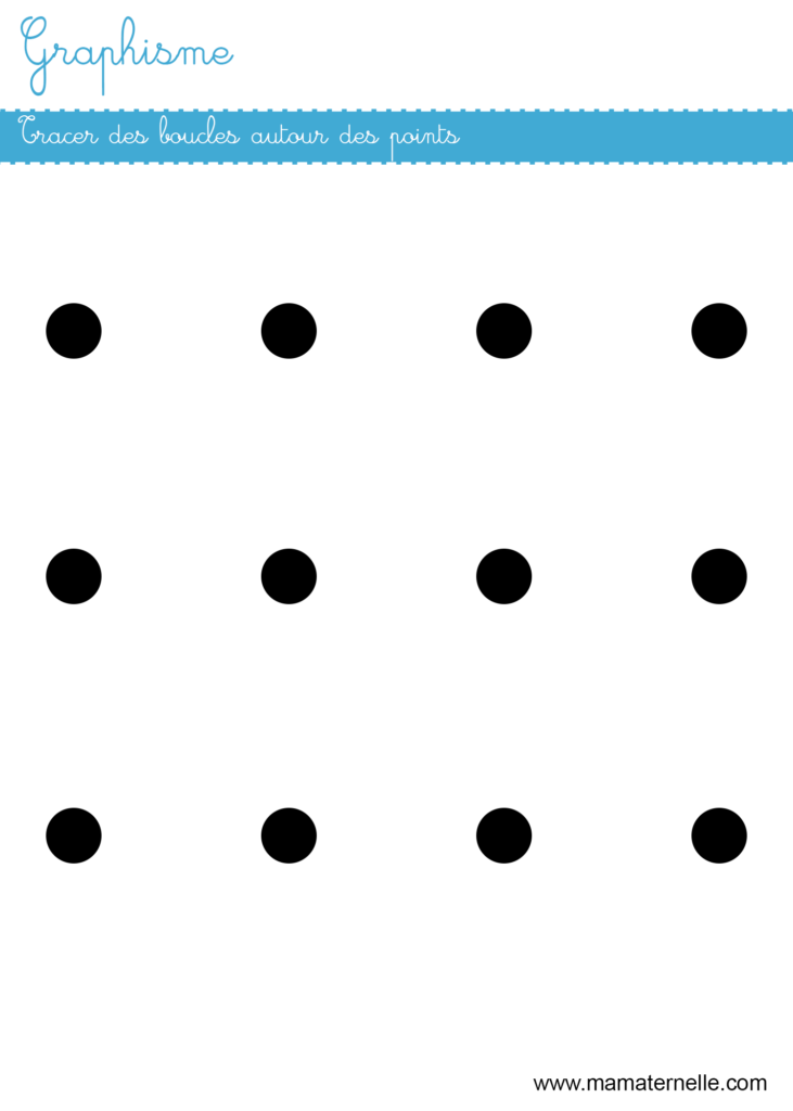 Petite section - Graphisme : tracer des boucles