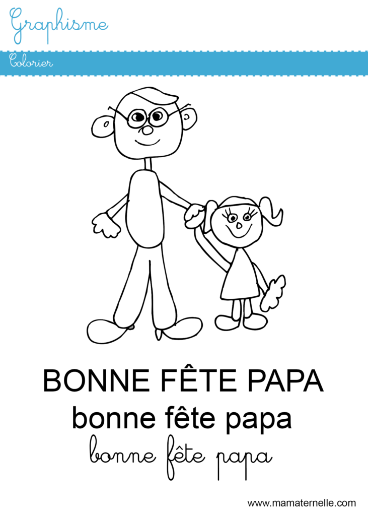 Moyenne section - Graphisme : colorier