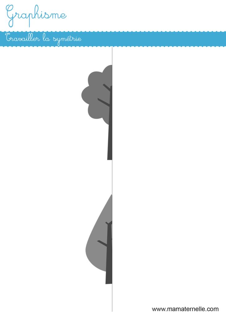 Grande section - Graphisme : travailler la symétrie